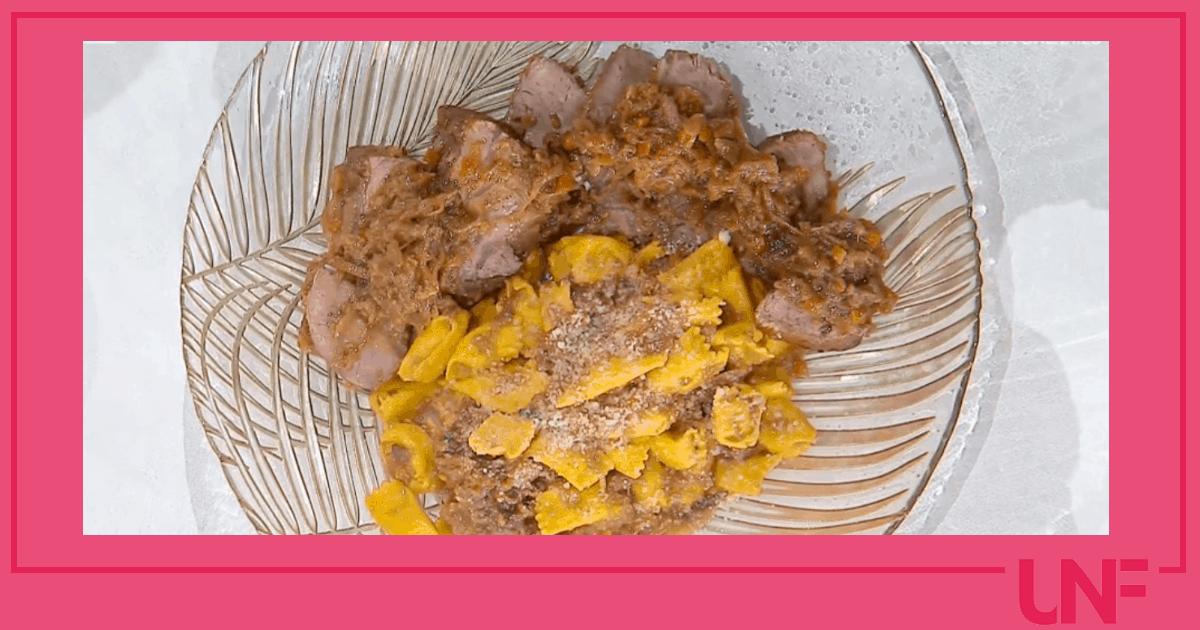 Pizzicotti alla genovese di cipolle, ricetta di Mattia e Mauro Improta