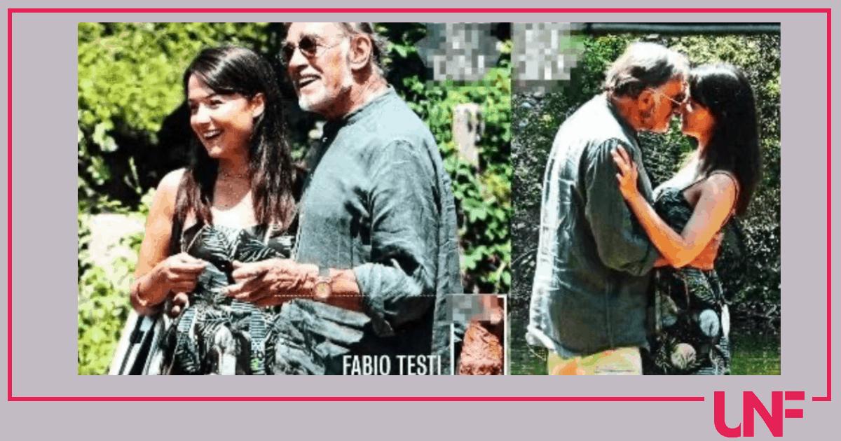 Fabio Testi ha una nuova giovanissima fidanzata conosciuta durante una visita