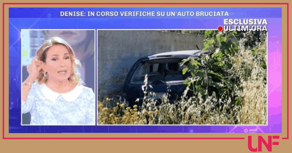 Da Pomeriggio 5 nuovi dettagli sulla macchina bruciata: è collegata a Denise Pipitone?