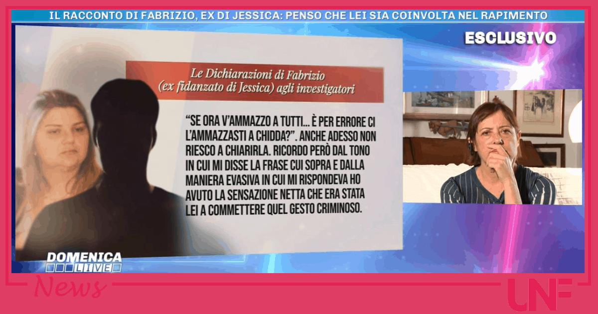 L'ex fidanzato di Jessica Pulizzi ha sospettato di lei per il sequestro di Denise Pipitone