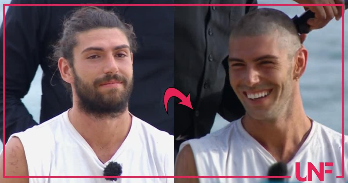 L'Isola dei Famosi 2021: Ignazio Moser si rade capelli e barba per la pasta, le immagini shock