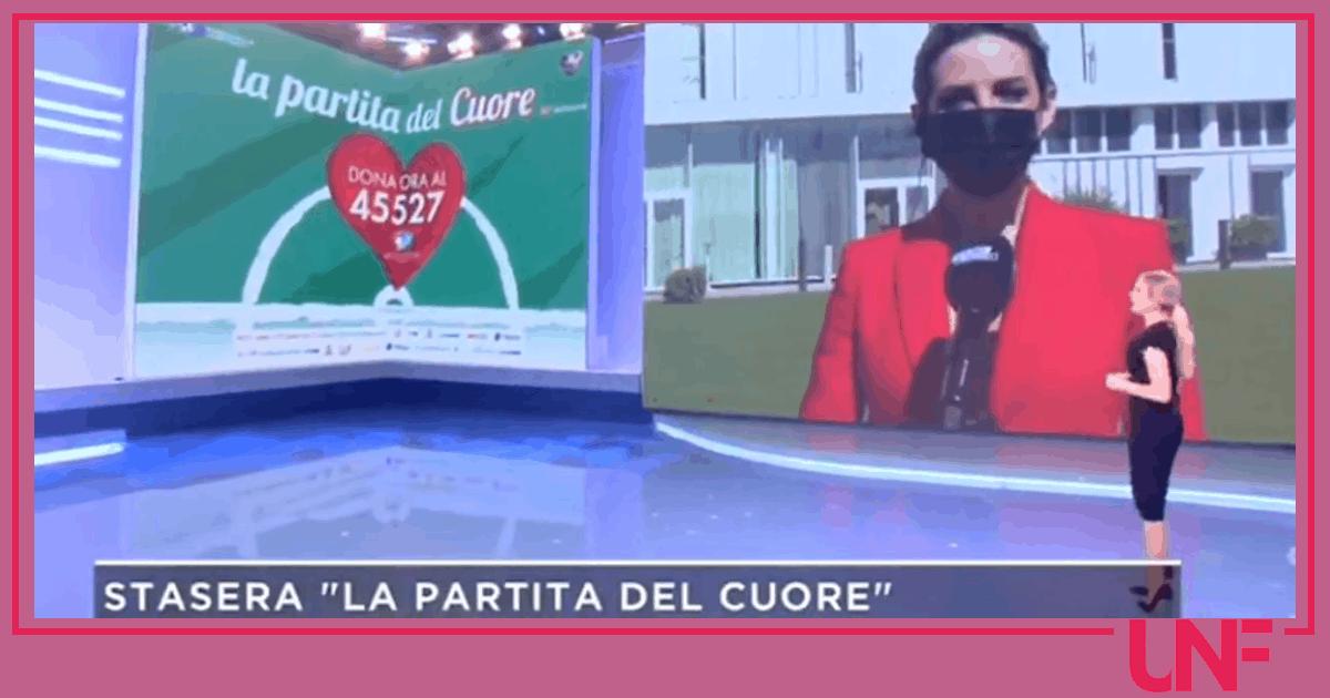 Federica Panicucci e Giorgia Rossi: nessun commento sulla vicenda sessista della Partita del cuore