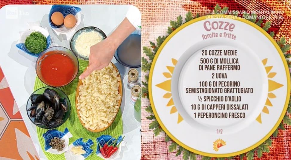 Cozze farcite e fritte, la ricetta di Antonella Ricci