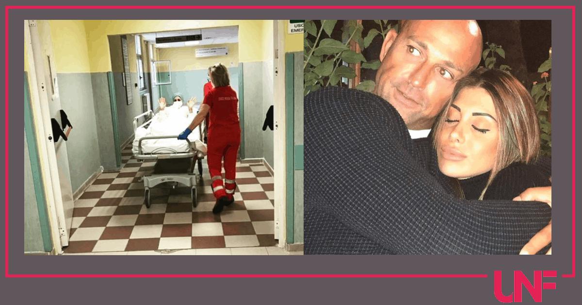 Nicoletta Larini in ospedale, la fidanzata di Stefano Bettarini operata