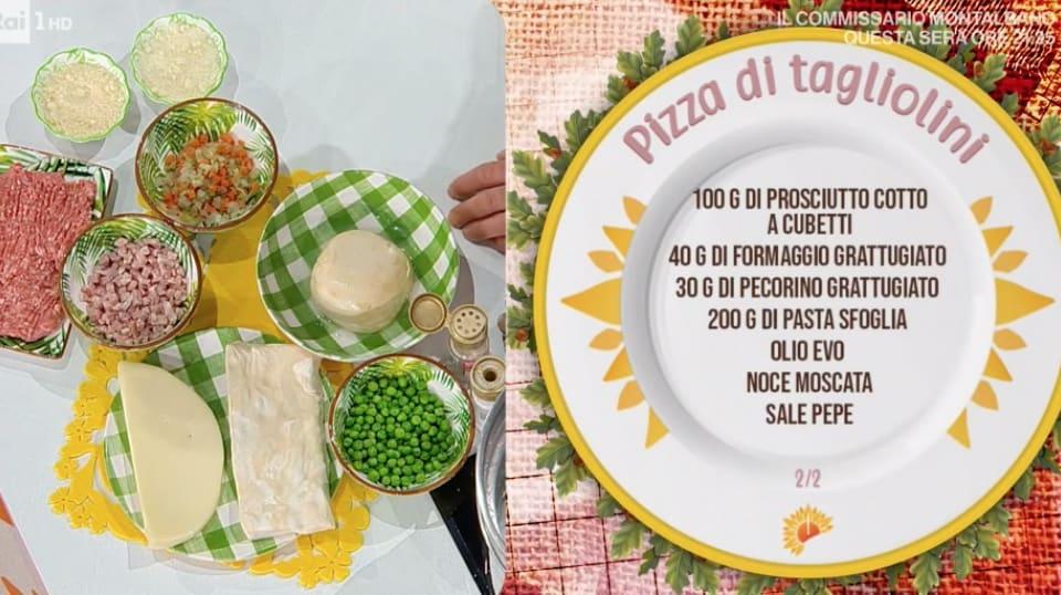 Pizza di tagliolini, la ricetta di Mattia e Mauro Improta