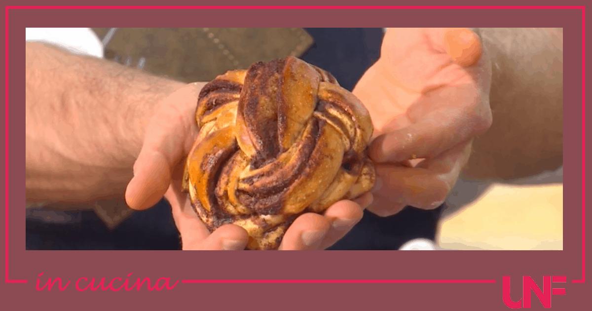 Cinnamon rolls, la ricetta dolce di Fulvio Marino