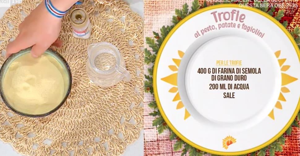 Trofie al pesto patate e fagiolini, la ricetta di Ivano Ricchebono