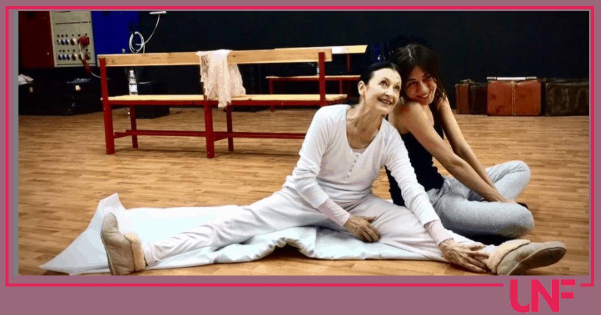 """Virginia Raffaele saluta Carla Fracci: """"Grazie per tutto quello che mi hai dato"""""""