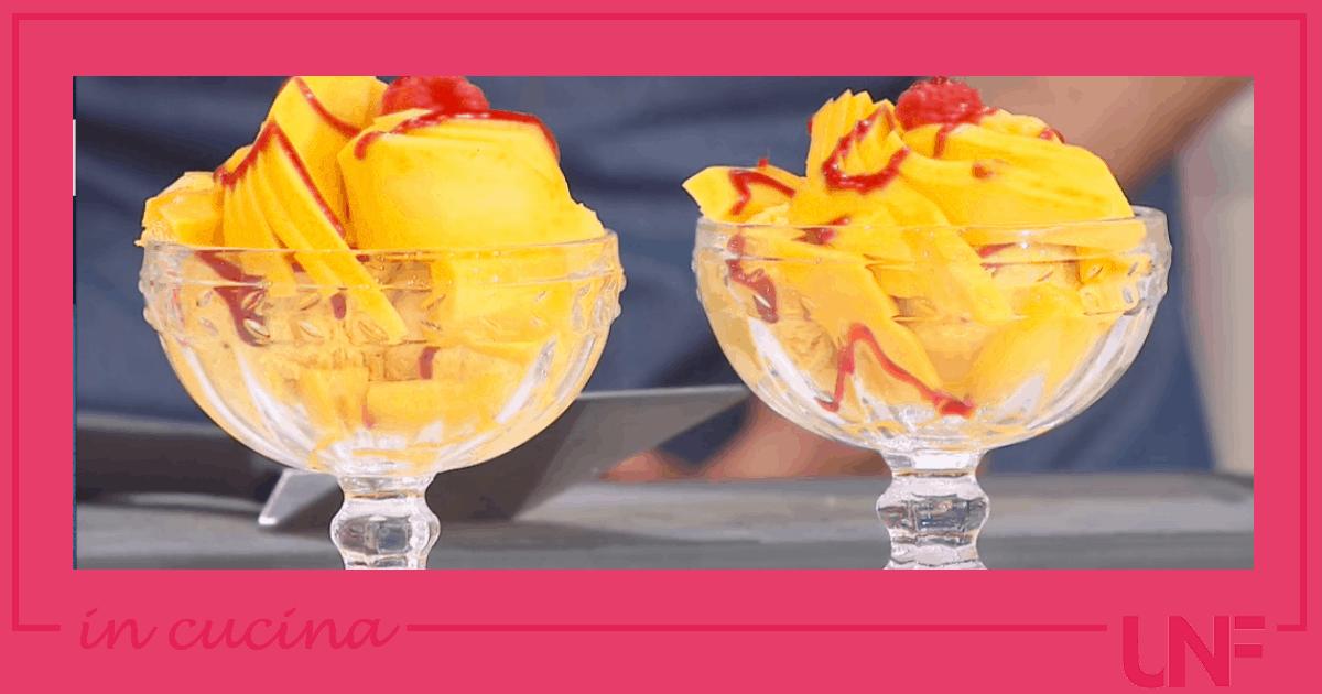 La coppa mangia e bevi, golosa ricetta di Max Scotti