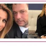 """Tra Adriana Volpe e l'ex marito volano stracci sui social: """"Un altro uomo nudo davanti a mia figlia"""""""