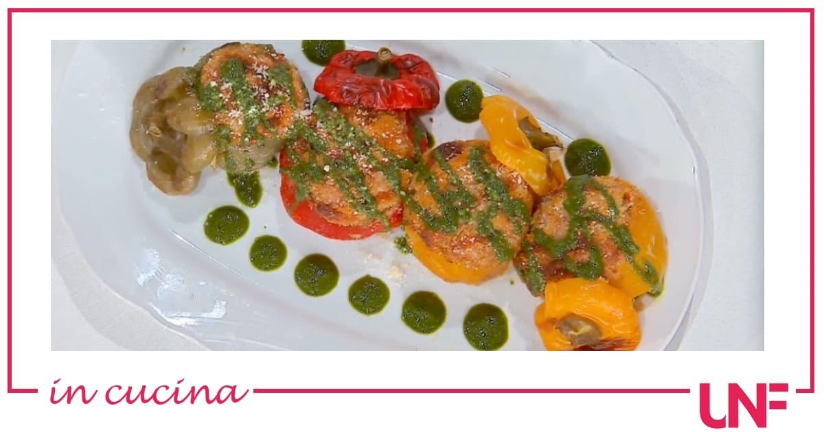 Peperoni ripieni, la ricetta di Mattia e Mauro Improta