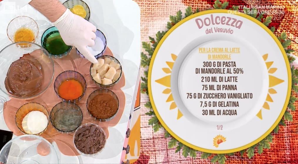 Ricette Sal De Riso: dolcezza del Vesuvio