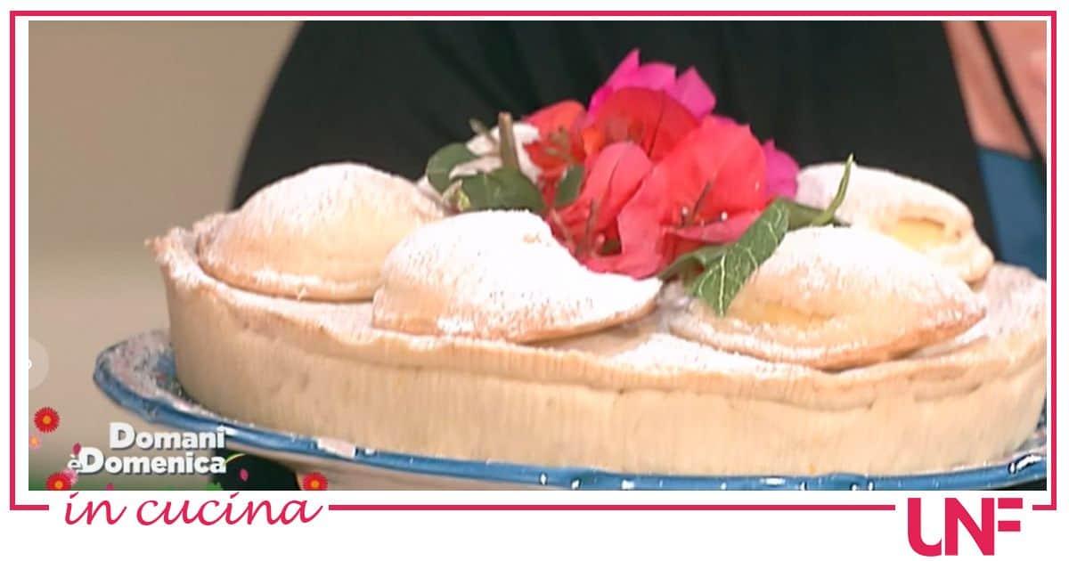 La ricetta della torta sfogliatella di Angelica Sepe