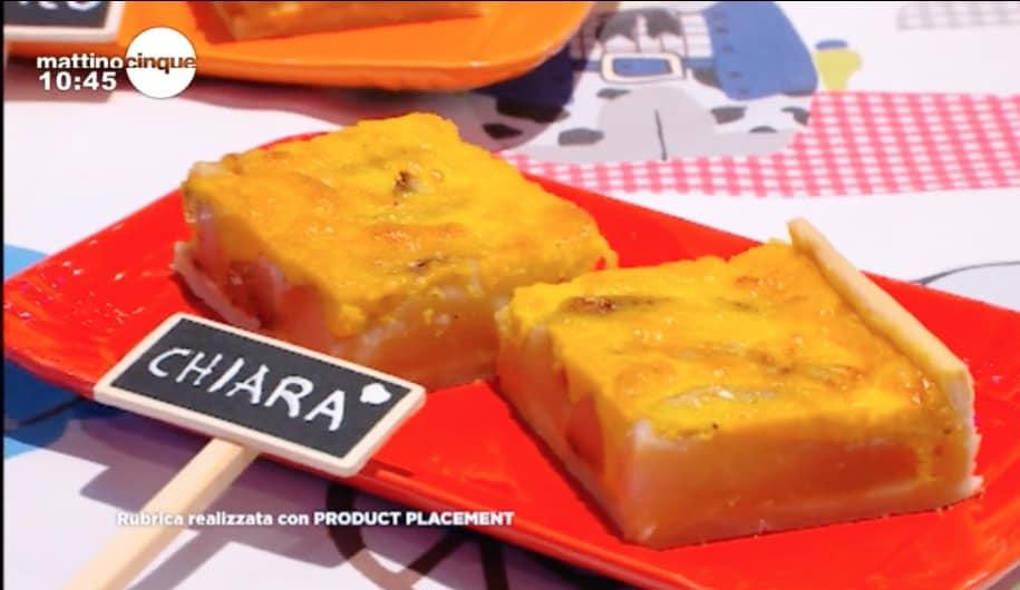 Quiche estiva pere e gorgonzola, la ricetta di Samya