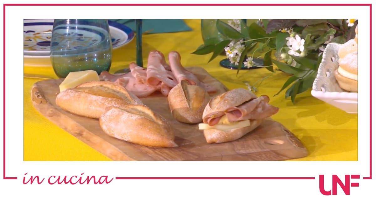 Ricette Fulvio Marino: ciriola, i panini romani