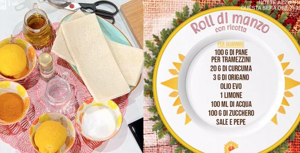 Roll di manzo con ricotta, ricetta di Francesca Marsetti