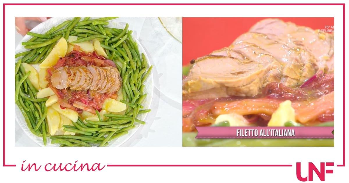 Filetto all'italiana, la ricetta di Barbara De Nigris