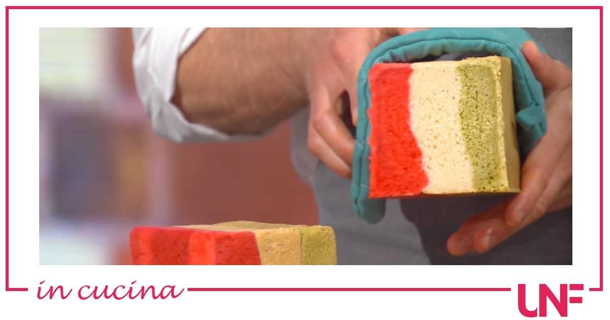 Pane tricolore, la ricetta di Fulvio Marino