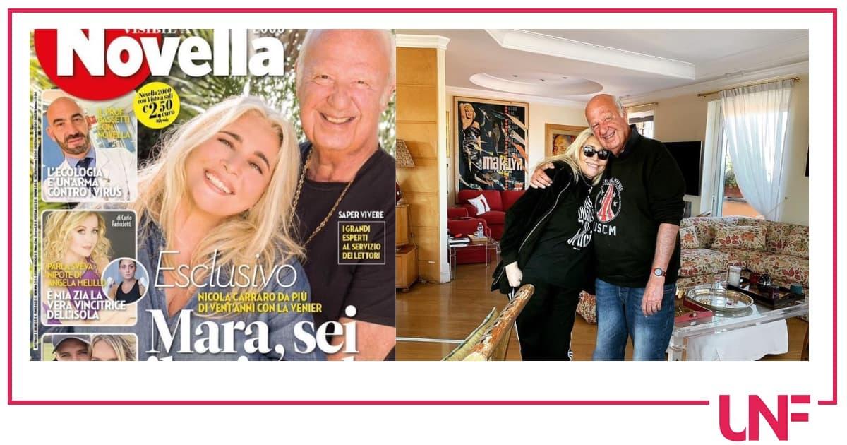 Nicola Carraro confida perché litiga con Mara Venier