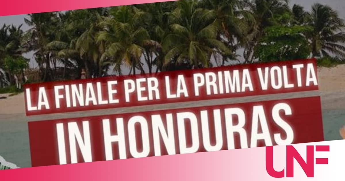 Per la finale dell'Isola dei famosi 2021 due sbarchi speciali in Honduras