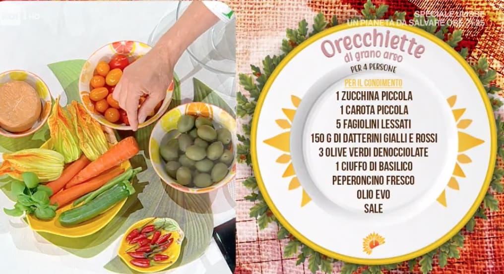 Orecchiette di grano arso, la ricetta di Antonella Ricci