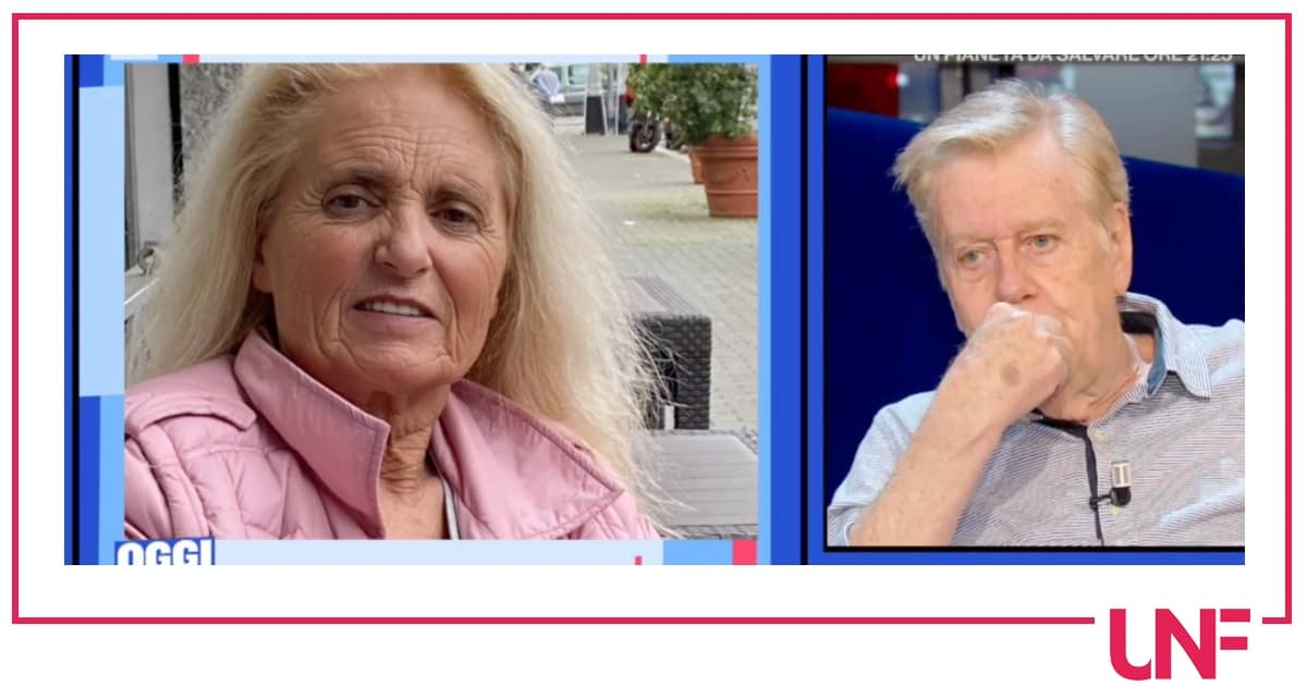 Il videomessaggio della figlia di Claudio Lippi e il perdono della moglie