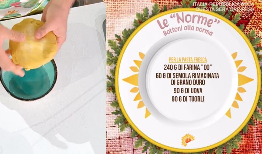 Pasta alla Norma, le due ricette di Fabio Potenzano