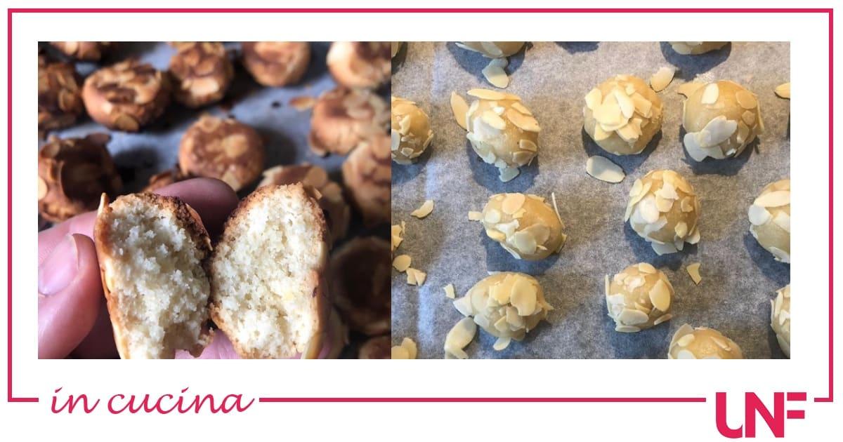 Confortini di mandorle, la ricetta dei dolcetti di Luisanna Messeri