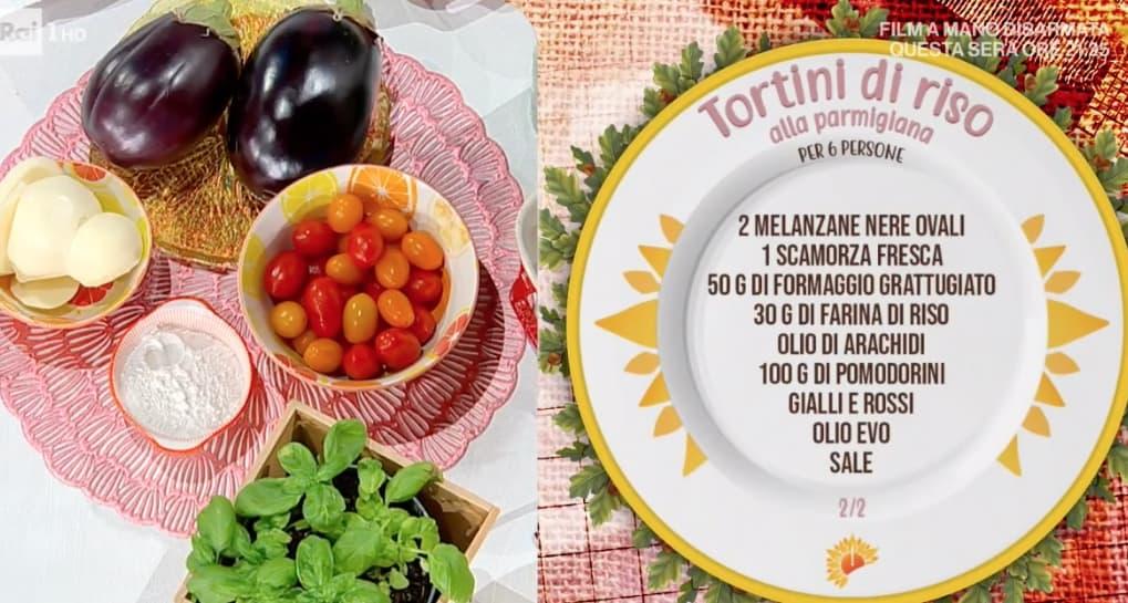 Tortini di riso alla parmigiana, la ricetta di Sergio Barzetti per l'estate