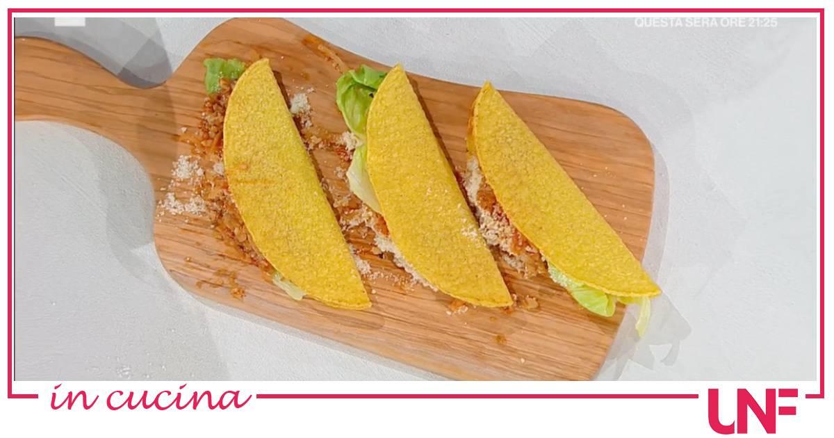 Tacos di Linda McCartney, la ricetta di Angela Frenda e Zia Cri