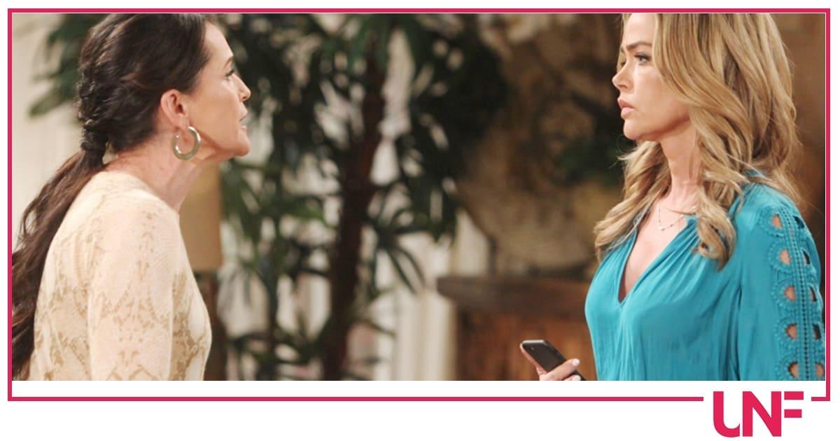 Beautiful anticipazioni: Ridge e Brooke fanno pace ma Shauna ha un asso nella manica