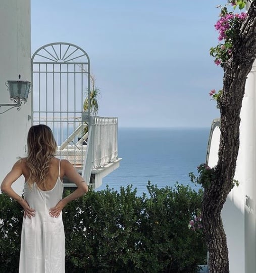 L'abito da sposa di Cristina Marino è perfetto, bocciato il costume del viaggio di nozze (Foto)