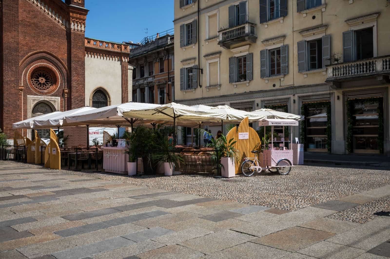 Arriva il Temporary Cafè Nespresso con Chiara Ferragni: tutti i dettagli
