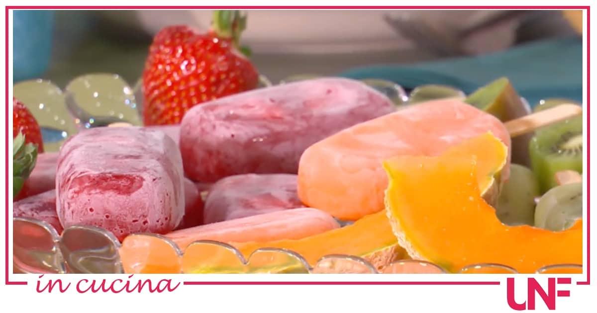 Ghiaccioli alla frutta, la ricetta di Massimiliano Scotti