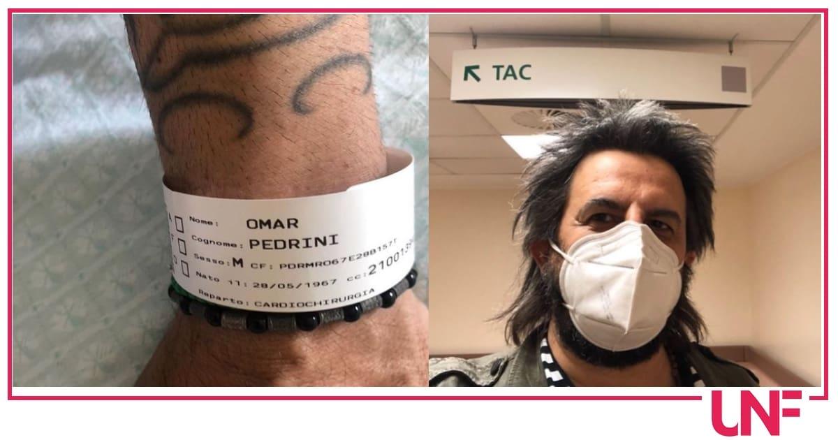 """Omar Pedrini in sala operatoria: """"Se andrà tutto bene sarò più forte di prima"""""""