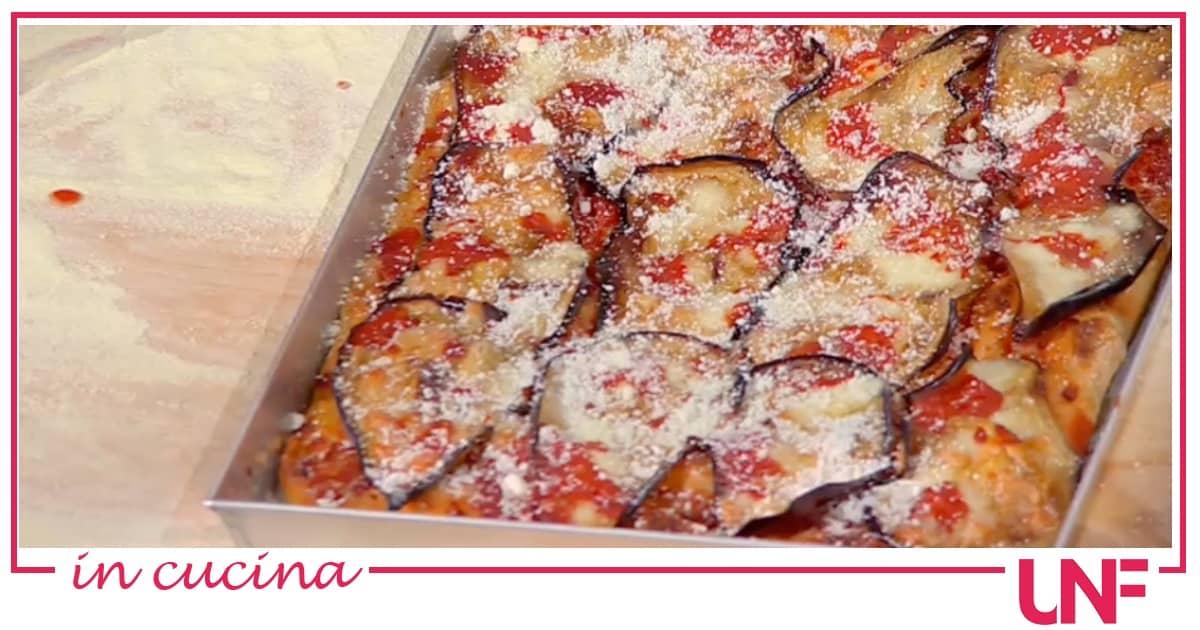 Pizza alla parmigiana, la ricetta di Fulvio Marino a lunga lievitazione