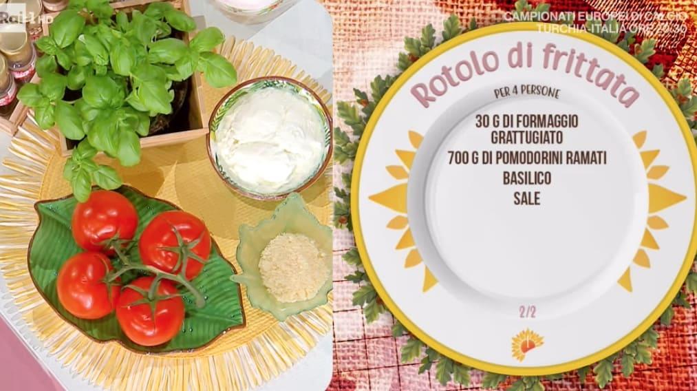 Rotolo di frittata è la ricetta di Barbara De Nigris