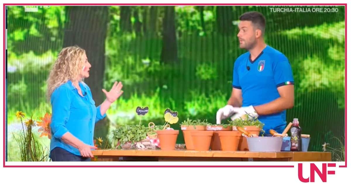 E' sempre mezzogiorno, con Matt seminiamo l'insalata nei vasi