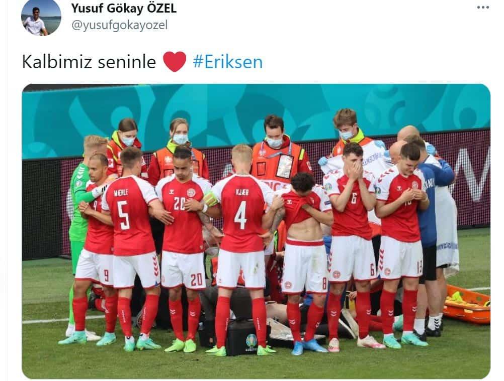 """Euro 2020 Eriksen si accascia in campo, le ultime notizie: situazione """"stabilizzata"""""""