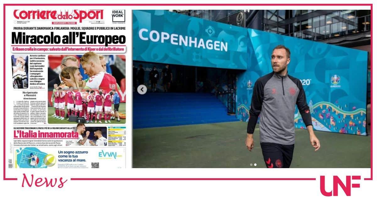 Miracolo europeo: Eriksen stabilizzato, le ultime notizie dall'ospedale