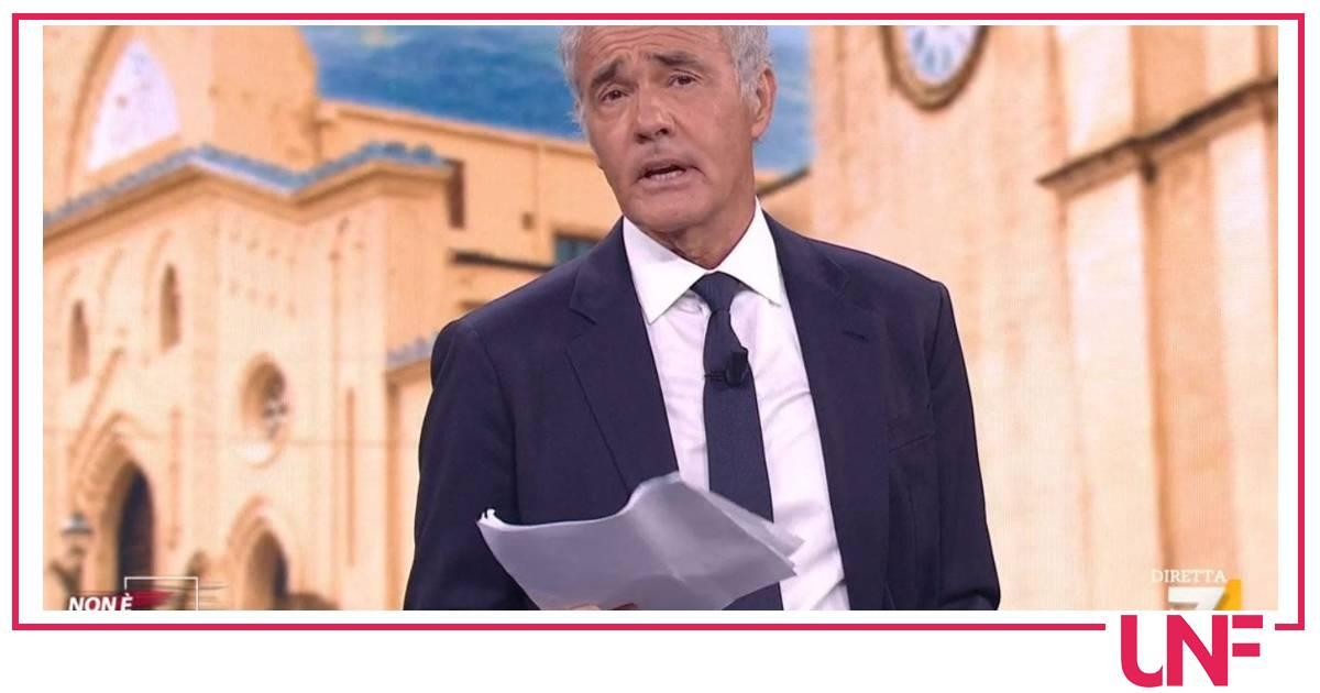Massimo Giletti sembra dare l'addio definitivo a Non è l'Arena: lascia La7?