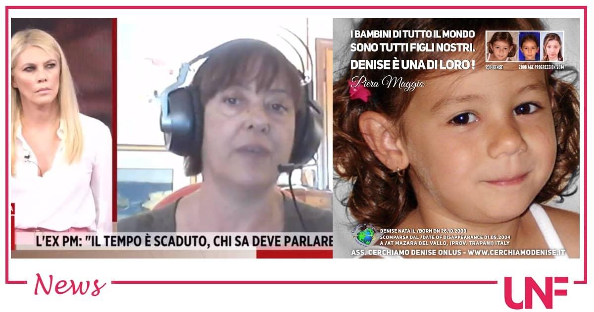 Denise Pipitone sarebbe viva e avrebbe una figlia: la rivelazione bomba dell'ex PM Angioni