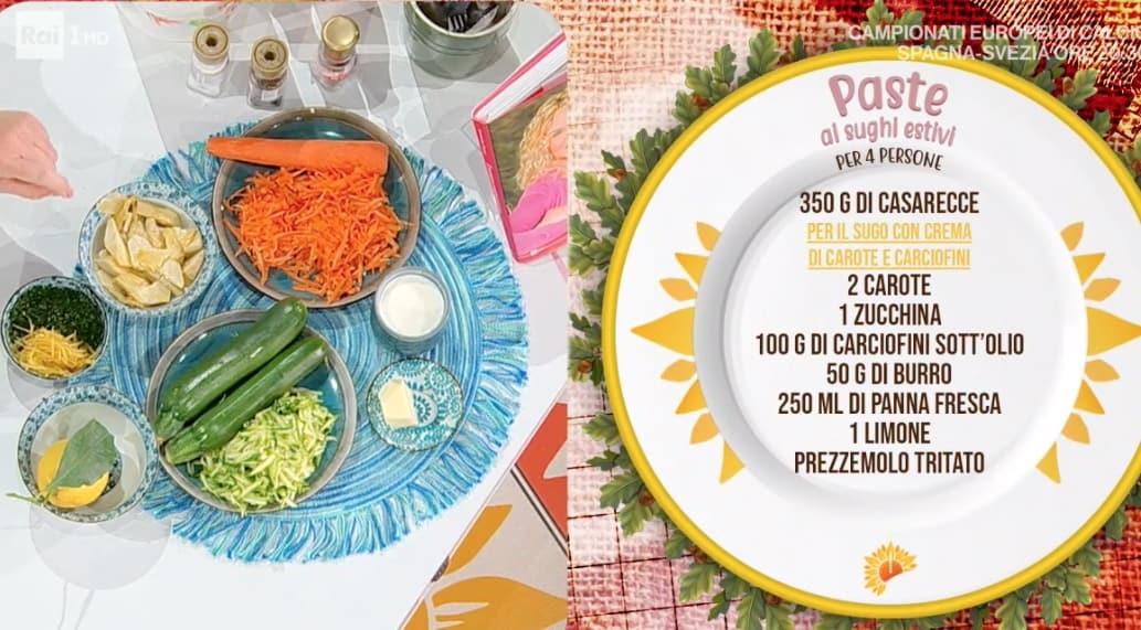 Le ricette di Zia Cri dei tre sughi per le paste estive