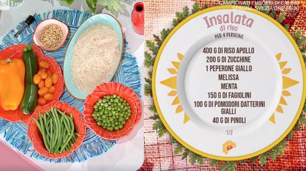 Ricette Sergio Barzetti: la vera insalata di riso