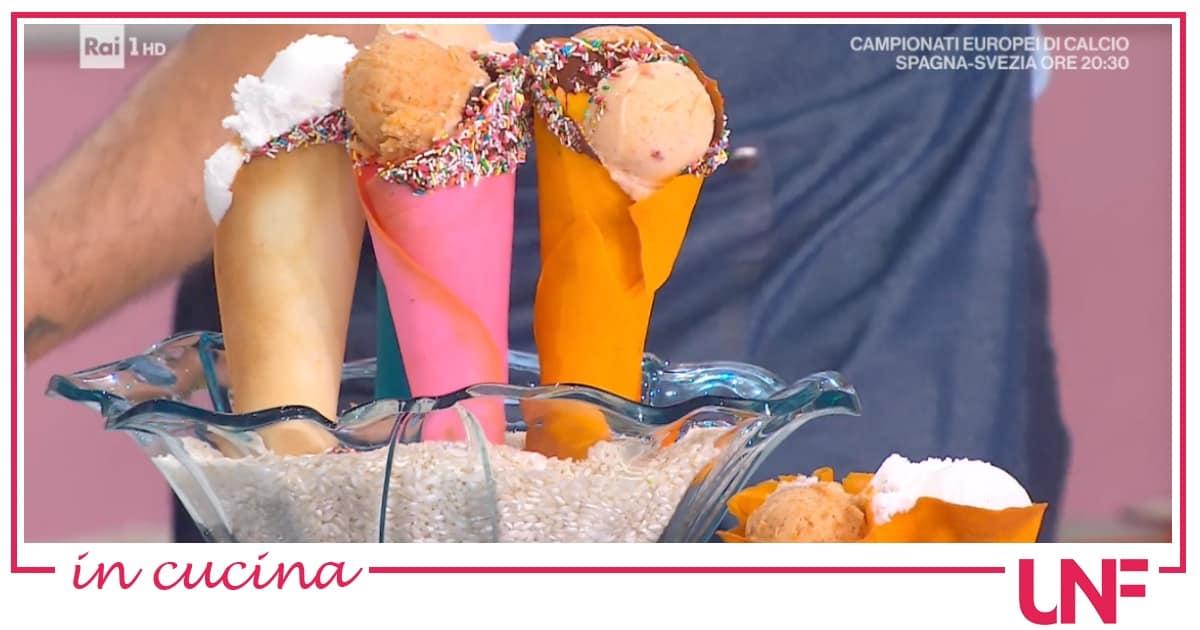 La ricetta delle cialde per coni gelato di Sara Brancaccio