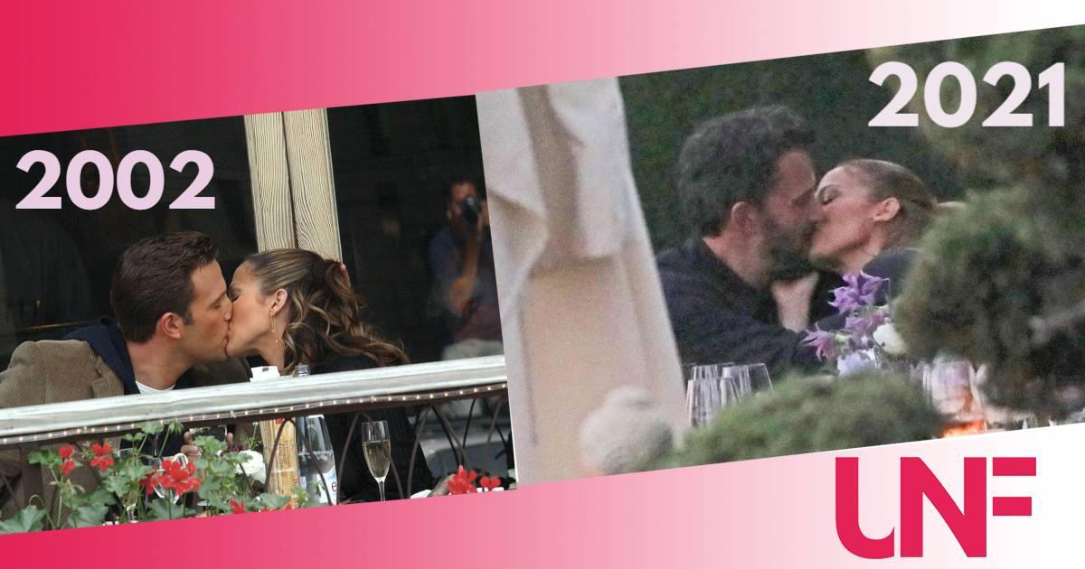 Primi baci alla luce del sole per Jennifer Lopez e Ben Affleck