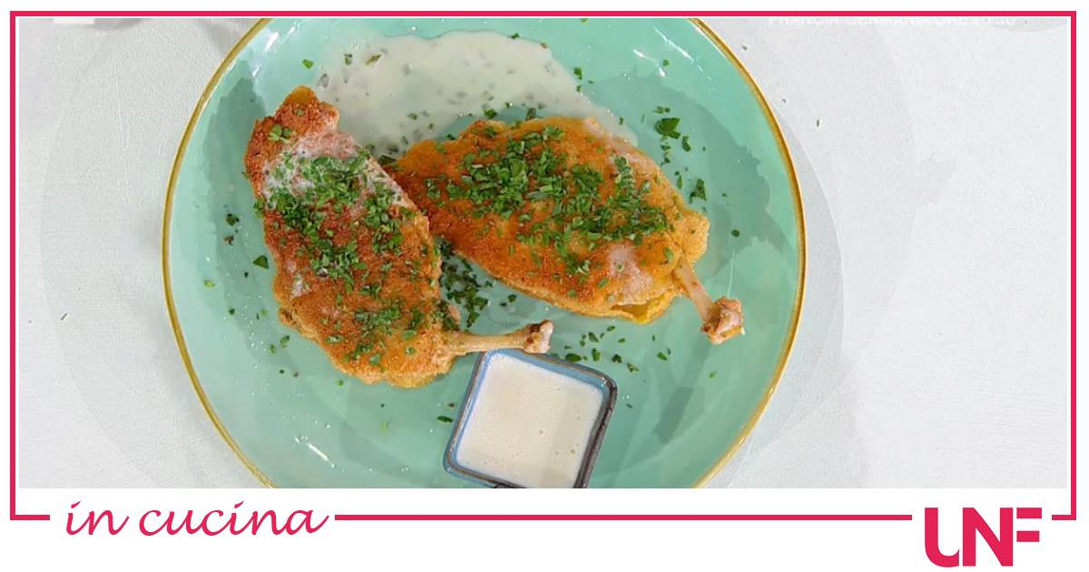 Faraona con sauce blanche, la ricetta di Chloe Facchini