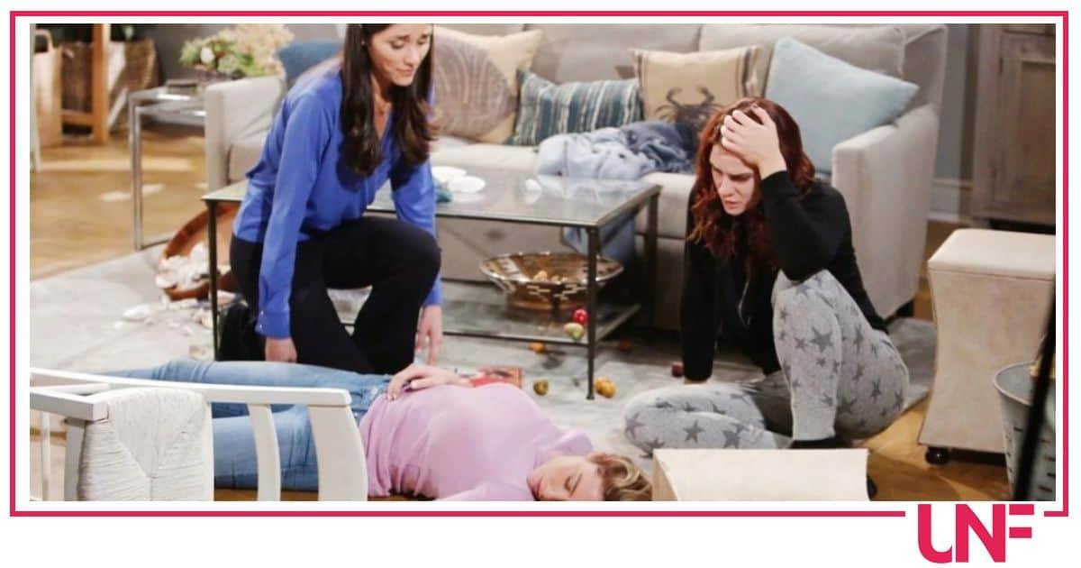 Beautiful anticipazioni prossime puntate: Flo scopre tutto, Sally le farà del male?