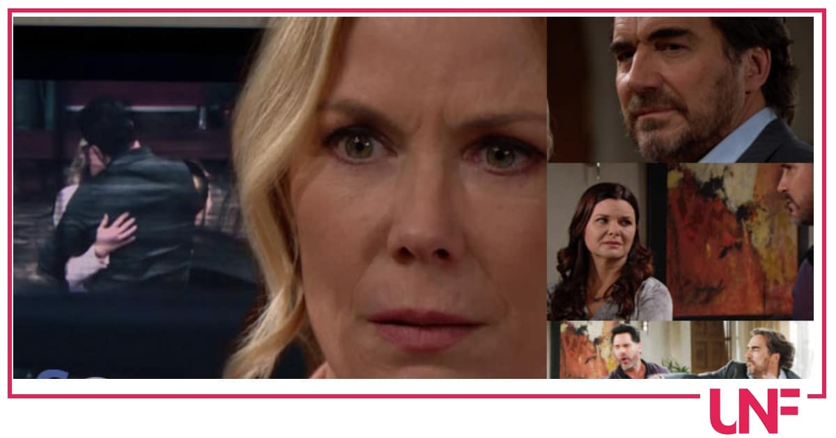 Beautiful anticipazioni: crisi tra Ridge e Brooke per colpa del video di Quinn?