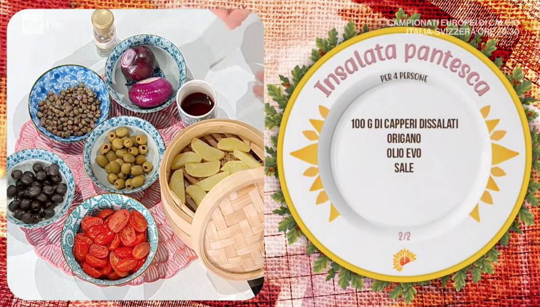 Insalata pantesca, la ricetta di Fabio Potenzano per l'estate